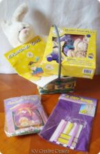 Build A Bear Easter Basket Springtime Fun Bunny Rabbit Plush Stuffed Animal Lot