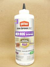 Ortho Home Defense Bed Bug Flea Tick Insect Killer Powder 12 oz Cracks Crevices