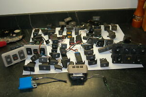 Land Rover Discovery 2 Giant Box of Switches and Misc Electrical Parts 1999-2004