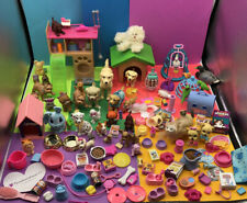 HUGE Mixed Lot of Barbie Accessories, Food, Pets Dogs Cats Birds - 140+ Pieces