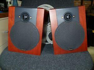 Boston Acoustics VR-M50 Main/Stereo Speakers Cherry Veneer