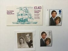Collection of British Royal Family Commemorative Stamps
