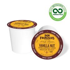 Don Francisco's Vanilla Nut Flavored (100 Count) Single-Serve Coffee Pods, Compa