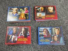 Star Trek Voyager Heroes & Villains - 99 Card Gold Parallel Throwback Base Set