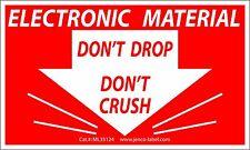 ML35124, 500 3x5 Do Not Drop/Crush Electronic Material