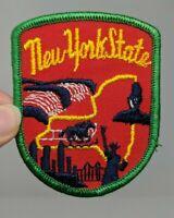 New York State City Travel Souvenir Shirt Jacket Hat Patch VTG 70s 1970s Falls