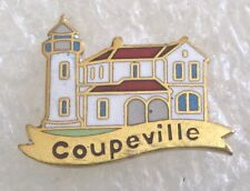 Town of Coupeville, Whidbey Island, Washington Travel Souvenir Collector Pin