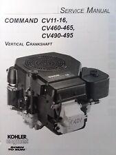 Sears Craftsman LT1000 Lawn Tractor Kohler Command CV16 Engine Service Manual