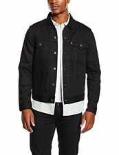 Levi's Homme Berkman Trucker Jacket Noir Medium