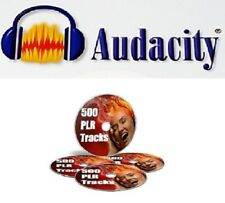 ~ Audacity Audio editing PLUS 500 ~ ~ ~  Royalty-Free Music Audio Tracks ~