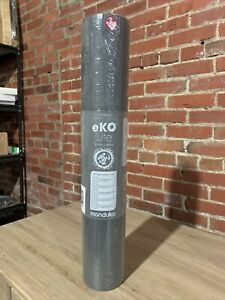 "Manduka eko® lite yoga mat 4mm 71"" Charcoal Grey Pilates Training"