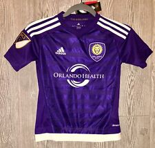 7d44d20d696 adidas Orlando City SC Youth Boys Replica Home Jersey Purple Size Large