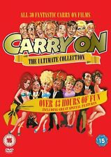 Carry On The Ultimate Collection Complete 30 Movies Region 2  DVD New (16 Discs)