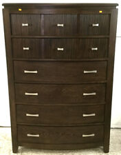 Cindy Crawford Home Oak Chest Of Drawers Lot 2381