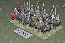 25mm medieval / saracen - cavalry 12 cavalry - cav (12103)