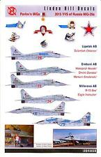 Linden Hill Decals 1/48 PAVLOV'S MiGs 2015 Russian MiG-29 Fulcrum Fighters