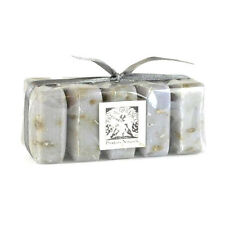 Pre De Provence LAVENDER French Guest Soap Set Shea Butter+FREE RIBBON Gift