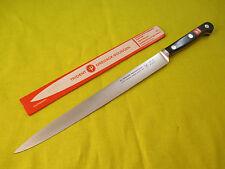 Wusthof 8 inch Flexible Slicing Knife, Ebony Laminate Handle, 4518/20  - #4