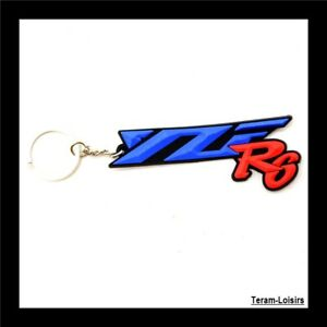 Keyring Motorcycle For Yamaha YZF R6 Red And Blue New - France