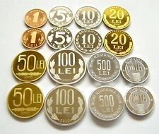 h710 Romania 2000 2 DIFFERENT types PROOF coins VERY RARE medal & coin rotation