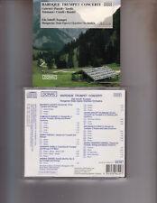Baroque Trumpet Concert Inhoff Gabrieli Torelli Purcell German Issue CD 1991