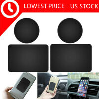 4X Replacement Mount Metal Plate Adhesive Stickers for Magnetic Phone Car Holder