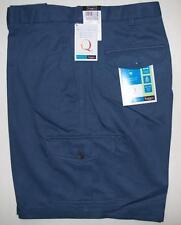 Haggar Cool 18 Mens Shorts Size 42 Cadet Blue Expandable Waist NEW $38