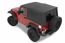 Jeep Wrangler Replacement Soft Top JK 2007-09 Black TINTED, In-stock AUS