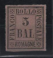 G129412/ ROMAGNA / ITALIAN STATE / SASSONE # 6 MINT MH - CV 150 $