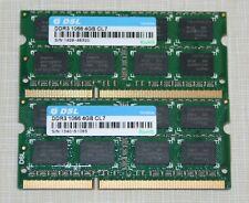 DSL 8GB (2X4GB) PC3-8500 DDR3 1066MHz SODIMM LAPTOP MEMORY