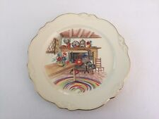 """Homer Laughlin China COLONIAL KITCHEN Virginia Rose - 9-3/8"""" LUNCHEON PLATE"""