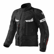 Giacche nero con protezione rimovibile per motociclista GORE-TEX