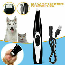 USB Rechargable Electric Pet Dog Cat Face Paw Hair Clipper Trimmer Grooming Kit
