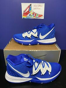 RARE!! Men's Nike Kyrie 5 Basketball Shoes Game Royal/White CN9519 401 Size 16