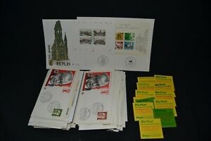 Germany first day covers x 70 mostly different + a few booklets.