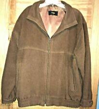 Vntg UEILCUN size Medium jacket coat, Baby Alpaca/Wool, Tan, made in Peru