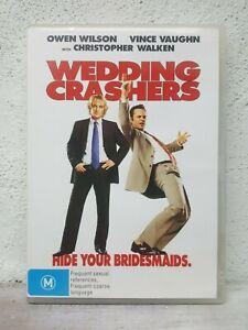 Wedding Crashers DVD Owen Wilson Vince Vaughan - FUNNY COMEDY MOVIE AUSTRALIA