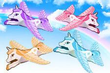 NUOVO 4 X Unicorno volanti Vele Piani Party Bag Filler Favori