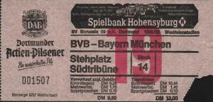 3043 Ticket BL 85/86 Borussia Dortmund - FC Bayern München, 12.04.1986
