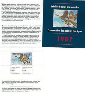 Kanada +Wildlife Habitat Conservation Stamp+ 1987 ** Postfrisch