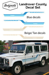 Land Rover County decal/graphics set