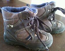 braune Winterstiefel, hohe Schuhe Gr. 22 von Legcro Gore-tex, Leichtschuh