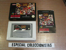 SNES BOXING LEGENDS OF THE RING  PAL UK COMPLETO SUPER NINTENDO