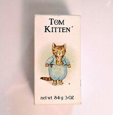 Vtg NOS 1978 Crabtree & Evelyn Beatrix Potter Tom Kitten Kids Bar Soap 84g 3oz