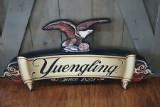 "Yuengling Lager Águila de madera tradicional cerveza signo 52x18/"" Nuevo en caja Rare!"