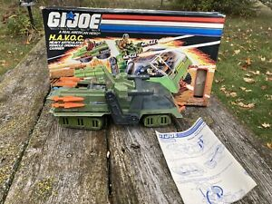 Vintage gi Joe Havoc Complete in box with Blueprints and Cross Country Figure.