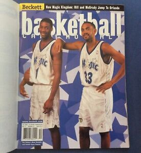 2000- Beckett Basketball Price Guide Issue #123,Hill And,Mcgrady.