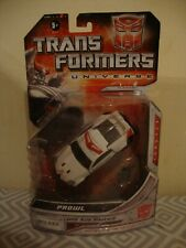 Transformers Universe Deluxe Class Prowl action figure.