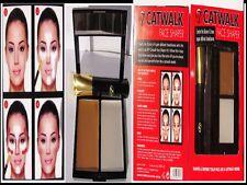 W7 Catwalk Face Shaper Contour Highlighter Powder Brush Palette