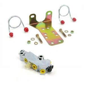 Mopar / GM Proportioning valve disc drum + bracket + lines + Brake switch cable